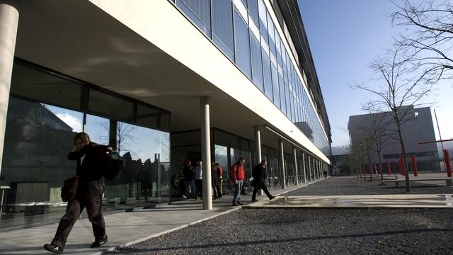 Vue de l'université de Fribourg. [Alessandro della Valle - Keystone]