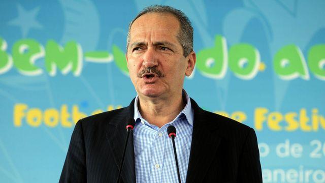 Le ministre brésilien des Sports Aldo Rebelo. [Marcos de Paula - Agência Estado/AFP]