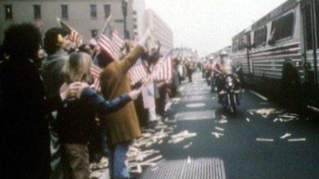 Au début des années Reagan et de l'affirmation de l'Amérique.