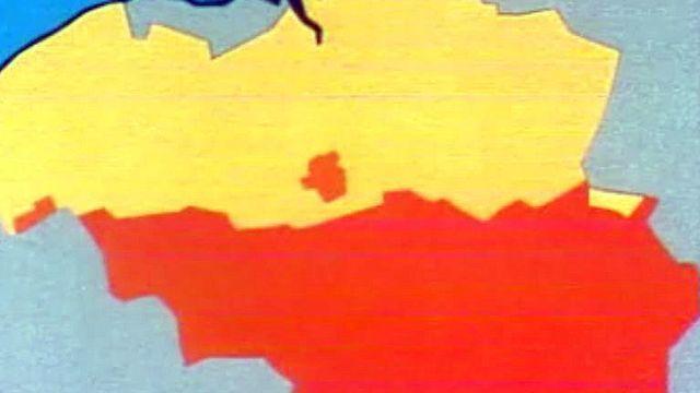 En automne, le pays est bloqué et paraît au bord de la partition.