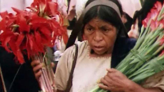 Les marchés indiens du Chiapas, un spectacle chatoyant.