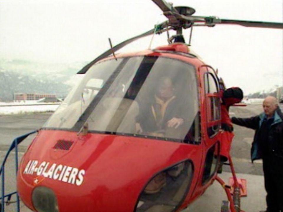 L'hélicoptère est parfois le seul moyen d'apporter de l'aide [RTS]