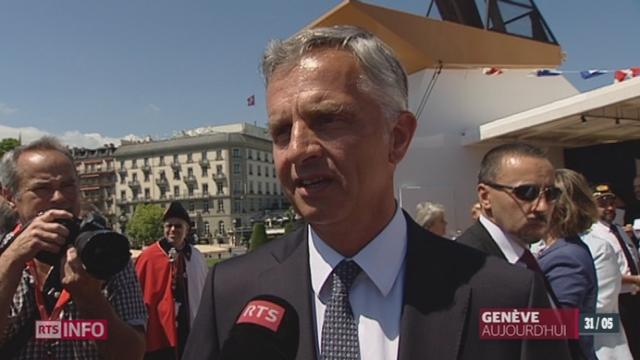 Ukraine: les précisions de Didier Burkhalter, à Genève [RTS]