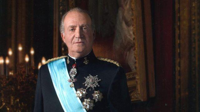 Une photo officielle du roi Juan Carlos en uniforme de l'armée espagnole prise en 2005. [Dani Virgili]