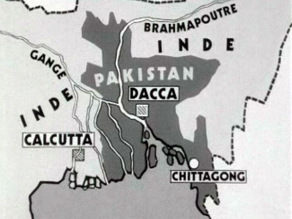 La sécession du Bangladesh plonge le Pakistan dans la guerre.