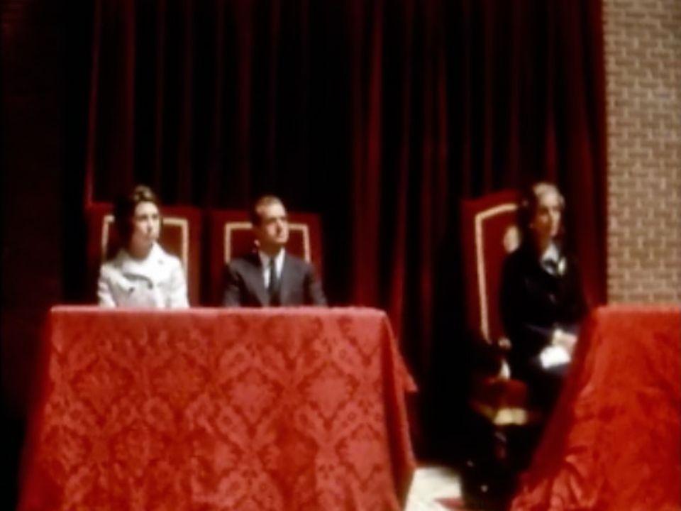 Juan Carlos d'Espagne a été choisi par Franco pour être le futur roi. [RTS]