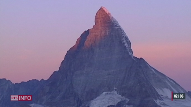 Les 150 ans de la première ascension du Cervin tombent en 2015, mais ils seront célébrés bien avant [RTS]