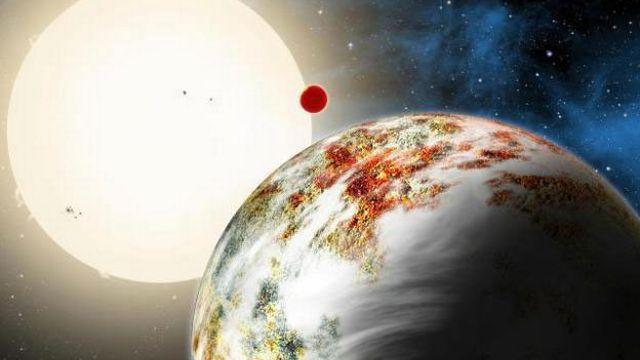 Cette planète rocheuse a une masse 17 fois supérieure à celle de la Terre. [David A. Aguilar - CfA/EurekAlert]