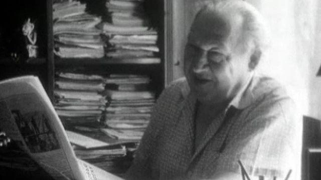 Portrait du dramaturge Joseph Prout. Comment écrire en URSS?
