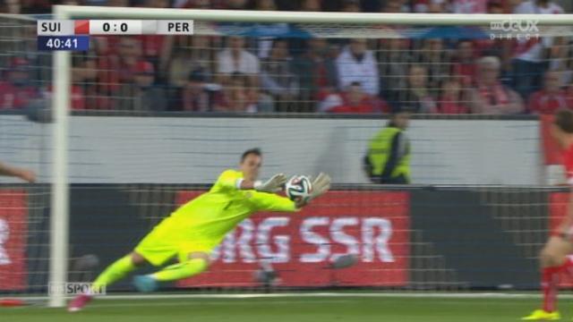 Suisse - Pérou (0-0): Hurtado se procure la meilleure occasion de la 1ère période [RTS]