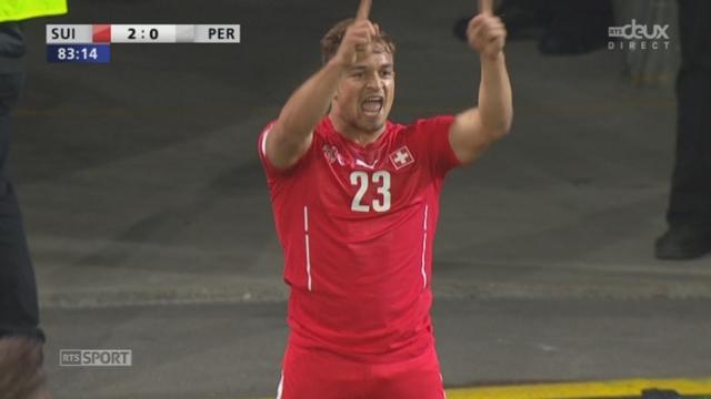 Suisse - Pérou (2-0): Xherdan Shaqiri double la mise pour les Helvètes [RTS]