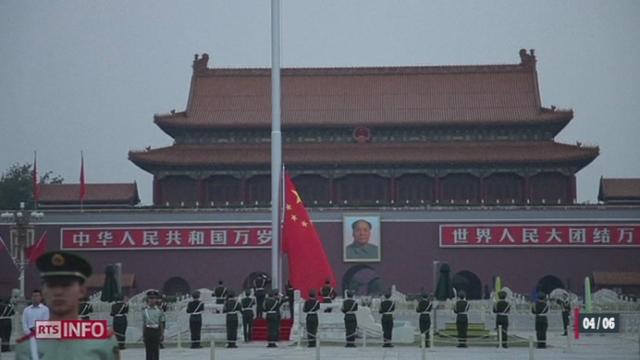 Chine: les autorités souhaitent empêcher toute tentative de commémoration des manifestations de Tiananmen [RTS]