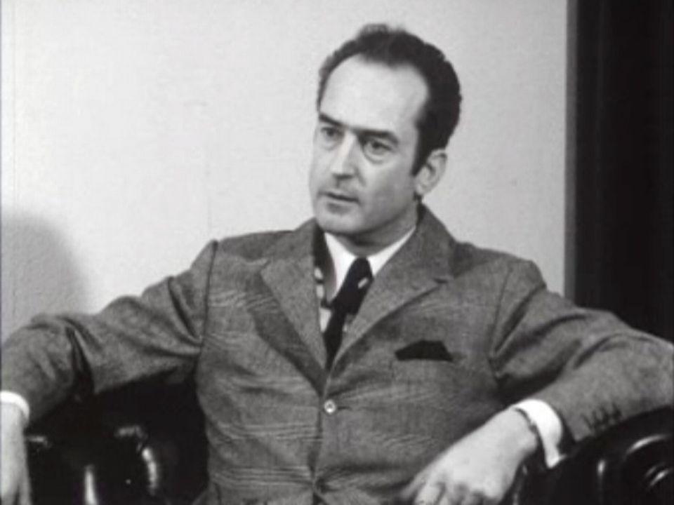 Marcel Naville, président du CICR, interviewé en 1970. [RTS]