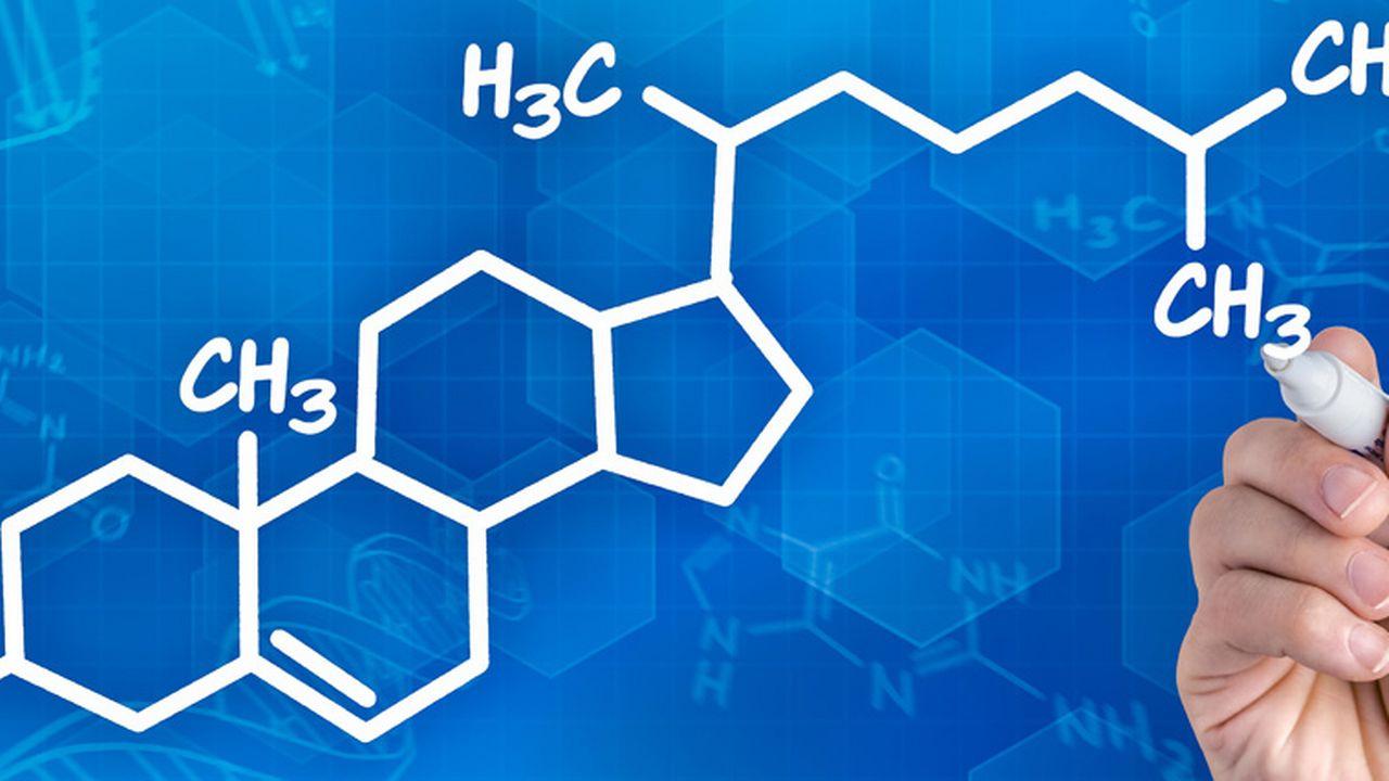 Représentation de la molécule du cholestérol. Zerbor Fotolia [Zerbor - Fotolia]