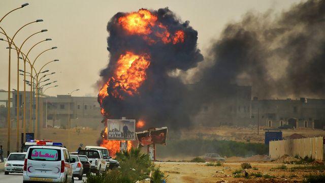 Libye Benghazi attentats. [Maher Alawami - EPA]
