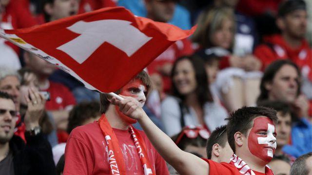 L'équipe de Suisse a terminé son camp de préparation en vue de la Coupe du monde 2014.  [Salvatore Di Nolfi]