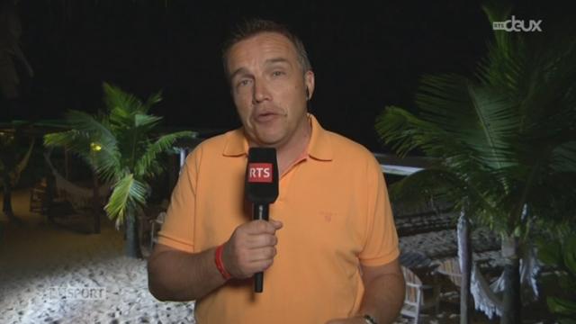 Football - Coupe du Monde: les précisions de Stéphane Rinaldi à Porto Seguro [RTS]