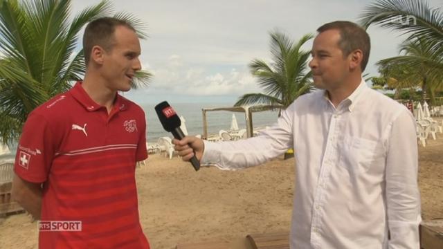 Football - Coupe du Monde: interview de Steve Von Bergen, défenseur [RTS]
