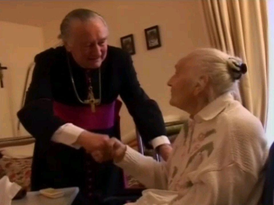 Mgr Bernard Genoud en 2006. [RTS]