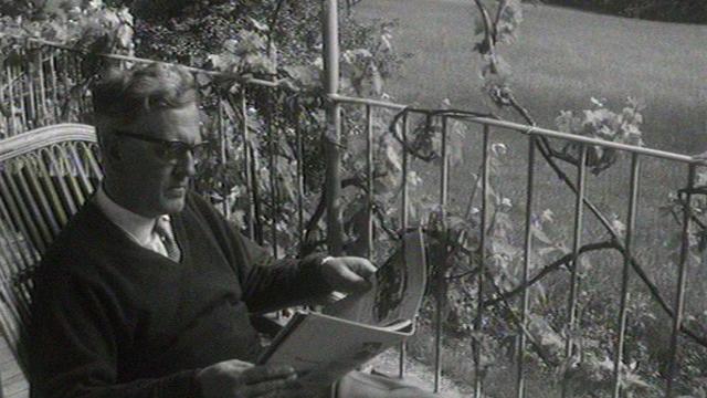 Heinrich Sutermeister en 1964. [RTS]