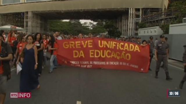 Brésil: les tensions sociales persistent [RTS]