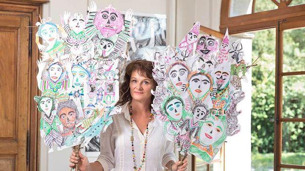 Lucienne Peiry, l'Art Brut dans le monde