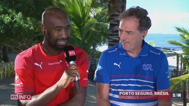 Page spéciale Mondial au Brésil: Pierre-Alain Dupuis reçoit Michel Pont et Johann Djourou [RTS]