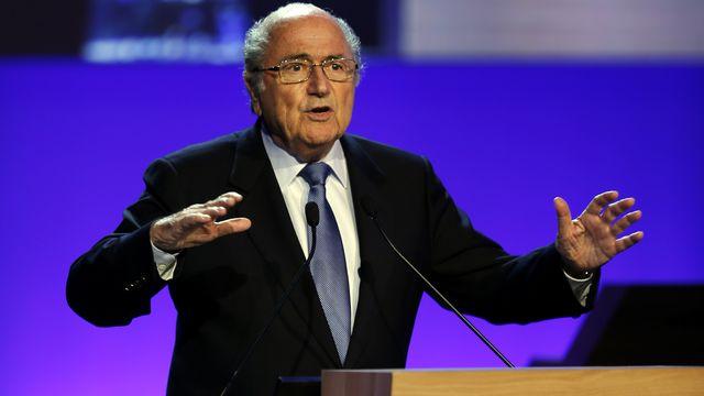 A 78 ans, Sepp Blatter ne souhaite pas encore quitter la FIFA. [Paulo Whitaker - Reuters]