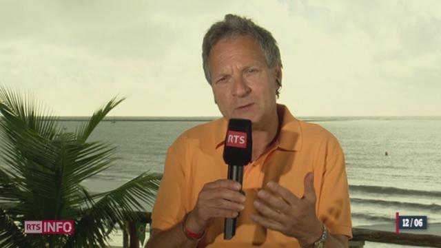 Ouverture de la Coupe du Monde: les observations de Pierre-Alain Dupuis, à Porto Seguro [RTS]
