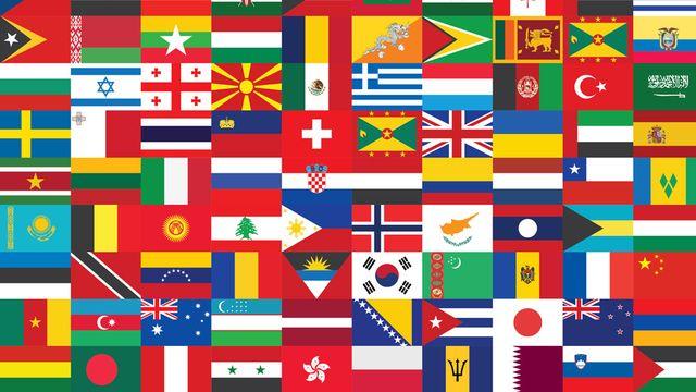 Drapeaux nationaux [© romantiche - Fotolia.com]
