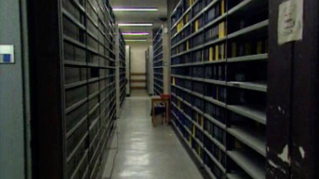 Le sous-sol de la TSR recueille de véritables trésors. [RTS]