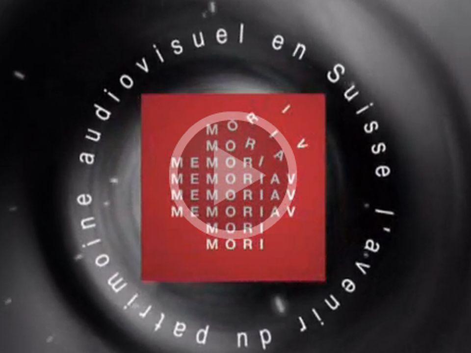 L'avenir du patrimoine audiovisuel en Suisse. [RTS]