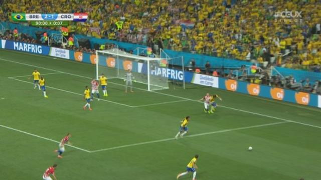 Groupe A, BRA-CRO (3-1): un bijou de Oscar qui offre le 3e but au Brésil grâce à un petit pointu que personne n'attendait [RTS]