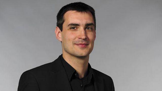 Alexis Roussel, vice-président du parti pirate suisse. [parti pirate genevois]