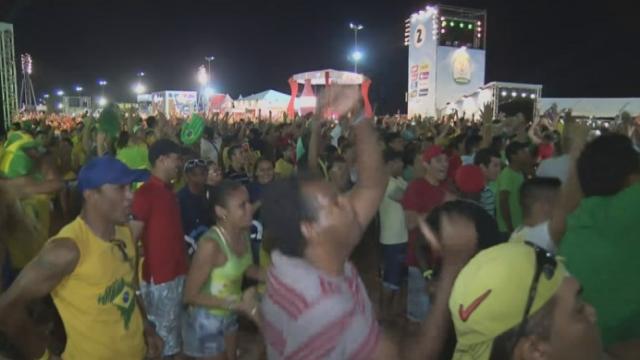 Réactions au Brésil après le match d'ouverture [RTS]