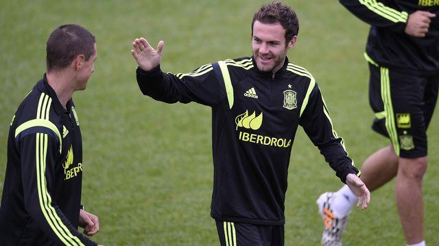 Juan Mata a décidé de dévoiler les goûts musicaux de ses coéquipiers. [Luis Gene - AFP]