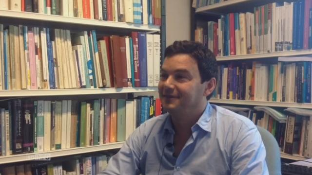 L'interview de l'économiste Thomas Piketty [RTS]