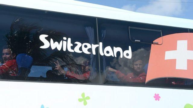 Les footballeurs suisses savent ce qu'ils leur restent à faire! [Marcus Brandt - Keystone]