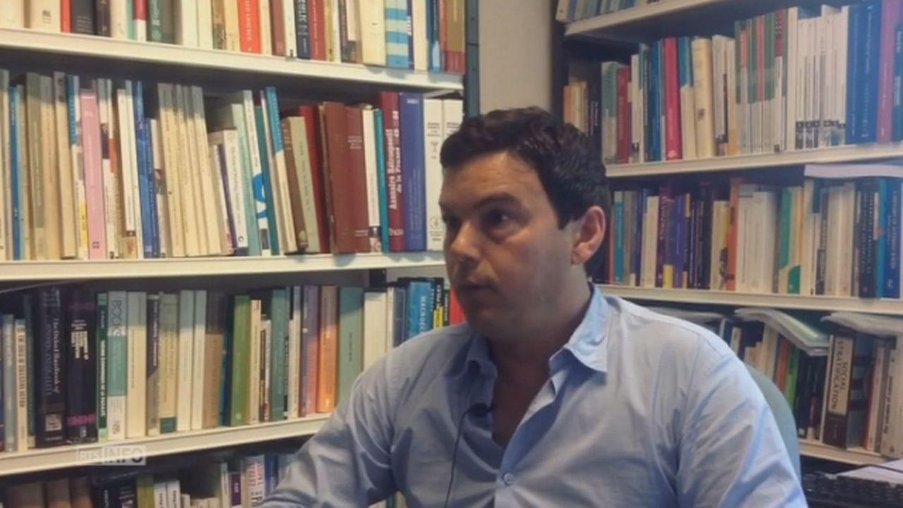 """Thomas Piketty: """"les pays de l'UE n'ont jamais été aussi riches"""". [RTS]"""