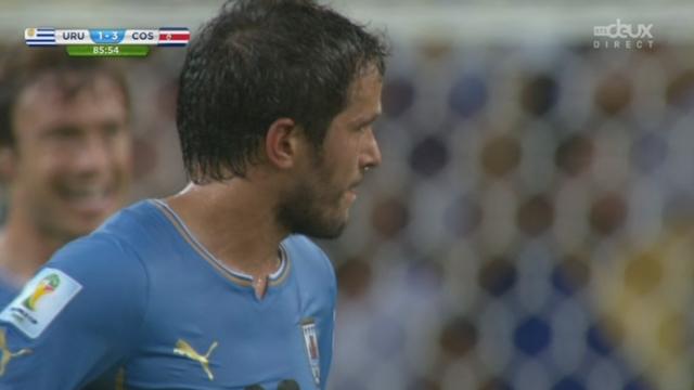 Groupe D, URU-COS (1-3): Urena inscrit le but de la sécurité pour le Costa Rica une minute après son entrée en jeu [RTS]