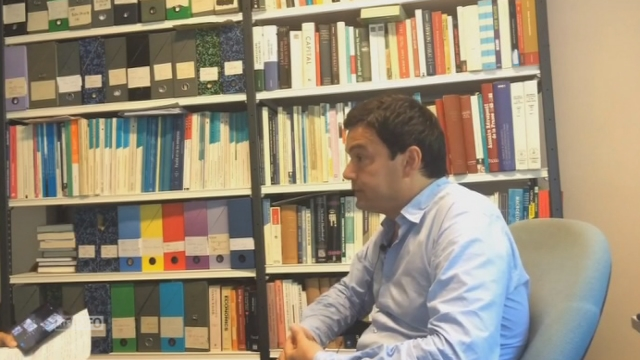 Le débat sur les forfaits fiscaux vu par l'économiste français Thomas Piketty [RTS]