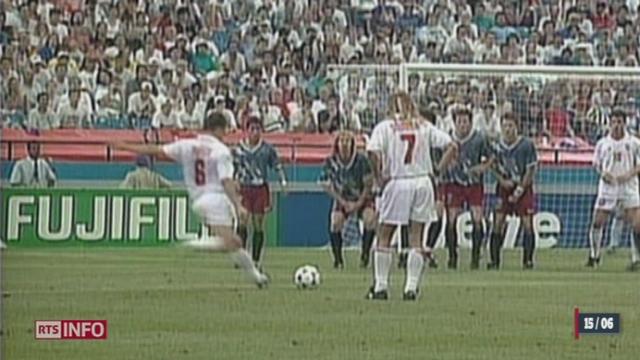 Retour sur les meilleurs moments de l'équipe de Suisse en Coupe du Monde [RTS]