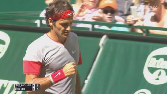Fianle, Federer - Calla (7-6): le Bâlois s'impose 7-2 dans le jeu décisif de cette 1ère manche [RTS]