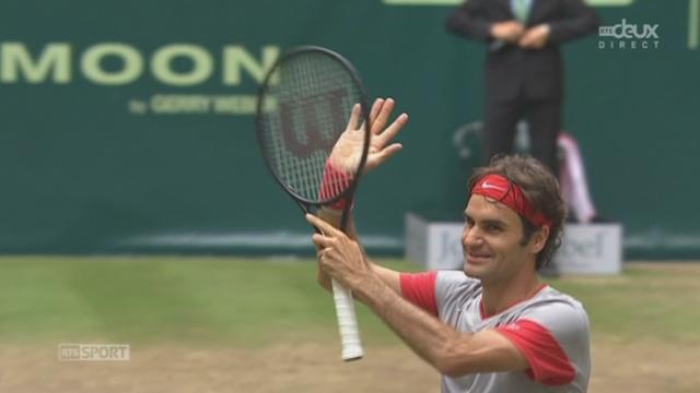 Finale, Federer - Falla (7-6, 7-6): Federer remporte le 79e titre de sa carrière [RTS]