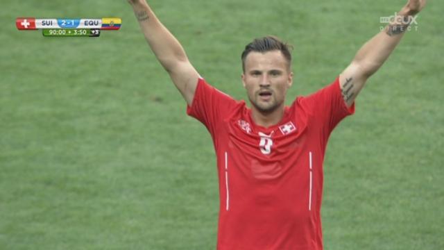 Groupe E, Suisse-Equateur (2-1) : Magnifique goal de Seferovic qui permet à la Suisse de l'emporter [RTS]