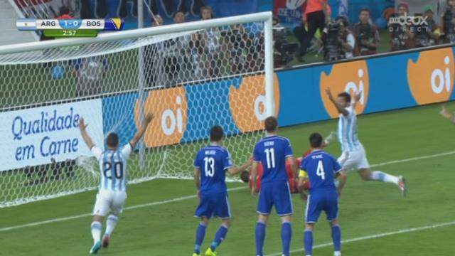 Groupe F, ARG–BOS (1-0) : malheureux auto goal du bosniaque Kolasinac [RTS]