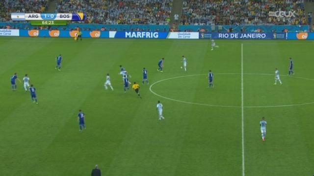 Groupe F, ARG-BOS (2-0): goal de Lionel Messi qui double la mise [RTS]