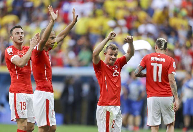 La performance de l'équipe de suisse a été très moyenne, malgré leur victoire. [Martin Mejia - AP Photo - Keystone]