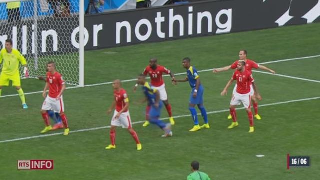 Coupe du monde: retour sur la victoire des Suisses contre l'Equateur (2-1) [RTS]