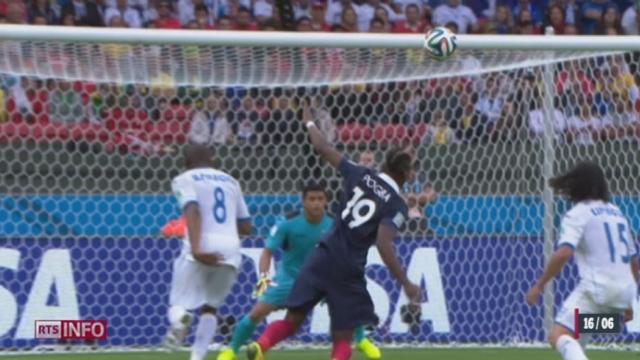 Coupe du monde: La France a battu facilement le Honduras (3-0) [RTS]